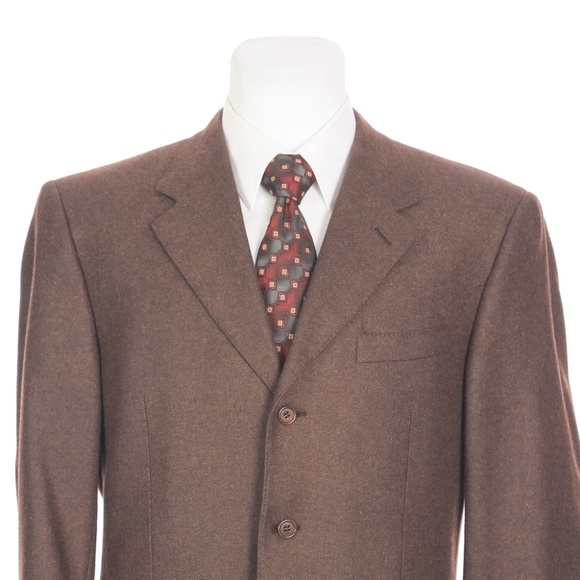 Canali Other - Canali Italy Full Canvas Silk Cashmere Sport Coat